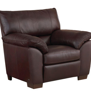 Trento Leather Chair by Natuzzi Editions