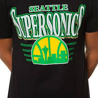 The Seattle Supersonics Tee in Black