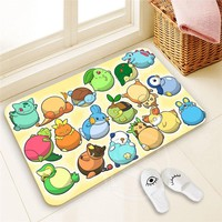 Autumn Fall welcome door mat doormat Best Nice Custom Pokemon   Home Decor 100% Polyester Pattern  Floor Mat foot pad SQ00722-@H0645 AT_76_7