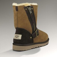 Tagre™ UGG Fashion Women Fur Zipper Wool Snow Boots In Tube Boots Shoes