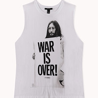 War Is Over Muscle Tee