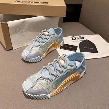 D&G DOLCE & GABBANA Women's Leather NS1 Sneakers Shoes