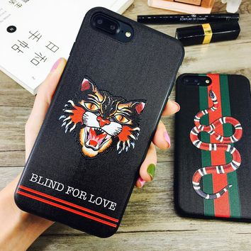 6S phone case iPhone 7 / plus / 8% X Cat Protector for Men and Women