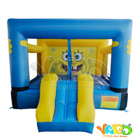 2017 Inflatable outdoor or indoor playground Jumping Bounce House Moonwalk Bouncer Tarmpoline Toys for Kids