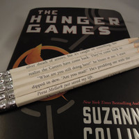 The Hunger Games Wrapped Pencil Set