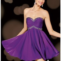 Alyce Paris 3609 Purple Dress - Prom, Homecoming, Cocktail Party