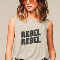 REBEL REBEL GRAPHIC TEE