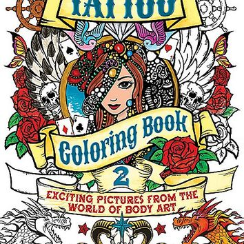 Tattoo Coloring Book 2 - Spencer's