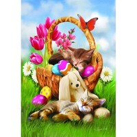 Hard Day with the Easter Bunny Jigsaw Puzzle - Puzzle Haven
