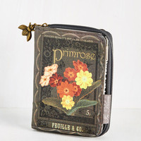 The Writing on the Wallet in Primrose | Mod Retro Vintage Wallets | ModCloth.com