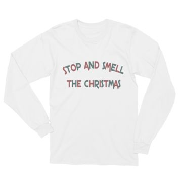 Smell the Christmas Unisex Long Sleeve T-Shirt