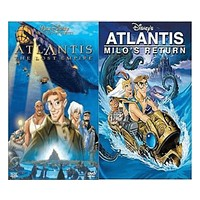 Walt Disney's Atlantis 1&2 DVD Set 2 Movie Collection