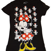 Disney Minnie Mouse All Over Juniors T-shirt