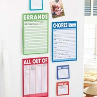 Set of 6 To-Do Magnetic List Pads