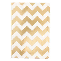 Gold Chevron Journal
