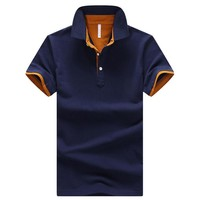 Summer Classic Striped Polo Shirt Men New Fashion Cotton Short Sleeve Shirt Male Camisa Polo Masculina Casual Slim Polo Homme