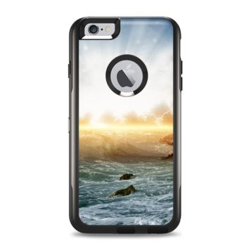 The Majestic Sky on Crashing Waves Apple iPhone 6 Plus Otterbox Commuter Case Skin