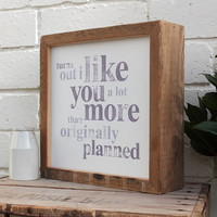 Quotation Framed Artwork
