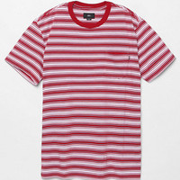 OBEY Chico Striped Pocket T-Shirt at PacSun.com