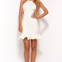 Hands On You Midi Dress White