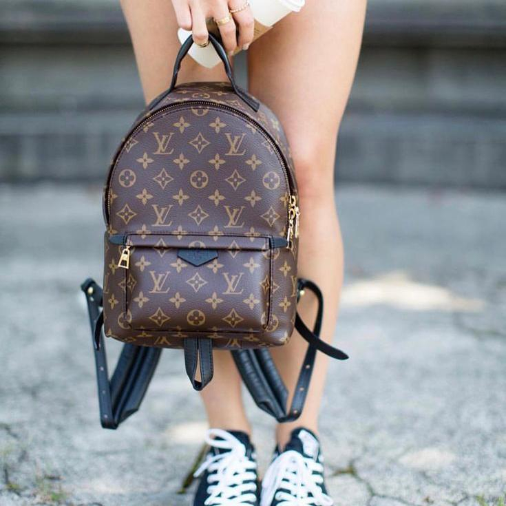 Image of LV Louis Vuitton classic men and women all-match backpack