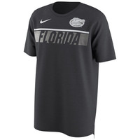 Men's Nike Anthracite Florida Gators Momentum Pack Performance Drop Tail T-Shirt