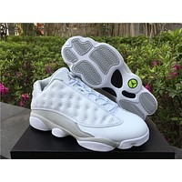 "Air Jordan 13 Low ""Pure Money"" AJ13 Retro Men Women Basketball Shoes"