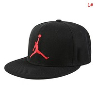 NIKE Jordan New fashion embroidery people couple cap hat 1#