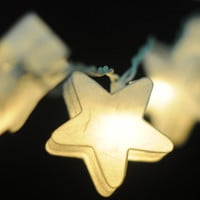 20 x beautiful paper white star handmade string light decoration wedding party decor