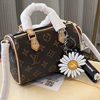 LV simple retro presbyopia women's pillow bag handbag shoulder bag