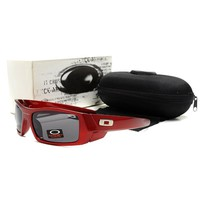 Ready Stock Original Oakley Sunglasses Unisex Eyeglass Red Gray Glasses