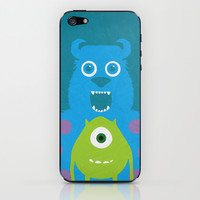 Monsters Inc - Minimalist Poster 06 iPhone & iPod Skin by Misery