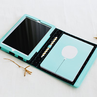 LEATHER IPAD MINI CASE: MINT - Phone & Tablet Cases - Bags & Cases