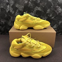 Adidas Yeezy 500 Desert Rat Yellow Sneakers