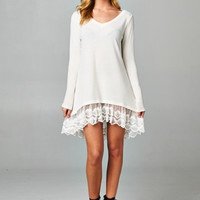 Reborn Solid  Ruffled Dress (more colors)
