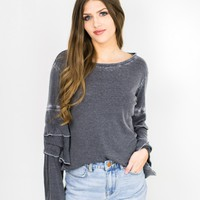 Becca Tier Sleeve Top