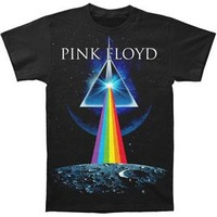 Pink Floyd Men's  Dark Side Invasion T-shirt Black