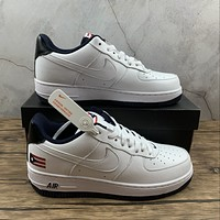 Morechoice Tuhz Nike Air Force 1 Low Qs Puerto Rico Sneakers Casual Skaet Shoes Cj1386-100