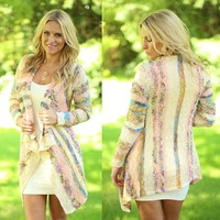 Bands Of Beauty Cardigan