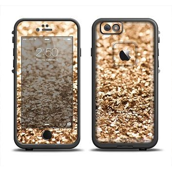 The Gold Glimmer V2 Apple iPhone 6 LifeProof Fre Case Skin Set