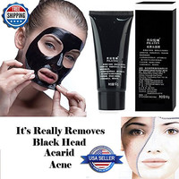 Pilaten 60g New Deep Cleaning Skin Blackhead Removal Acne Treatment Black Mud Face Mask
