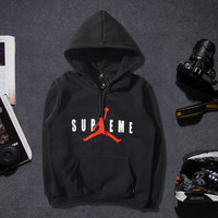 Couple Hoodies Winter Casual Sports Cotton Hats Pullover Jacket [9302714951]