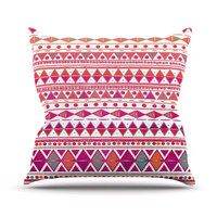 "Nika Martinez ""Summer Breeze"" Outdoor Throw Pillow"