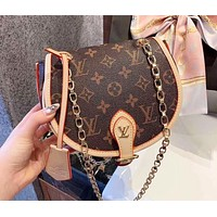 LV Louis Vuitton Women Fashion Leather Satchel Bag Shoulder Bag Handbag Crossbody