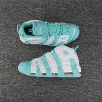 Nike Air More Uptempo 96 Scottie Pippen Mint Green Basketball Shoes Size US5.5-8.5