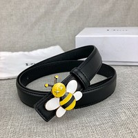 Dior new bee buckle ladies casual all-match fashion belt