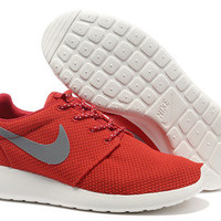 n004 - Nike Roshe Run (Mesh Red)