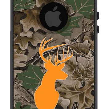 Otterbox iPhone 5 Case Commuter Series 5 5s Men Guys Dad Gift Hunting Deer Buck Camo Camouflage Antler Protective Plastic Hard Cover OB-1109