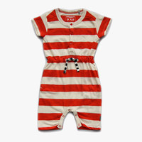 Imps and Elfs Striped Short Overall - 1150021 - FINAL SALE