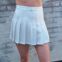 Carly Pleated Tennis Skirt from Now and Again Co.
